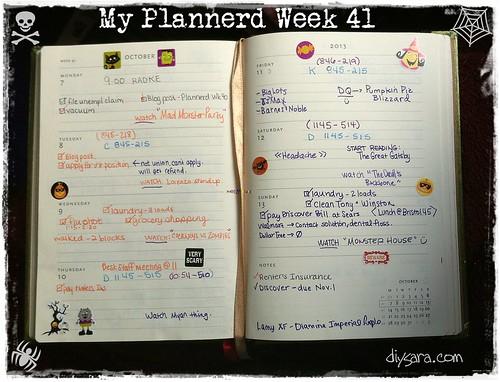 Plannerd week 40