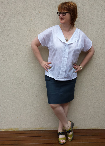 Weekend Getaway Blouse - size 12 with FBA