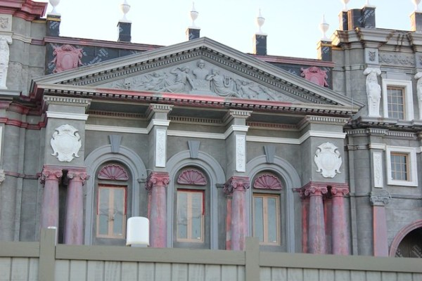 Wizarding World of Harry Potter - Diagon Alley construction sneak peek