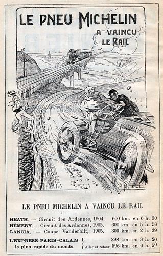 michelinreklam_1905 by Historiskt