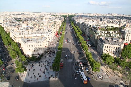 Shadow of the Arc de Triomphe