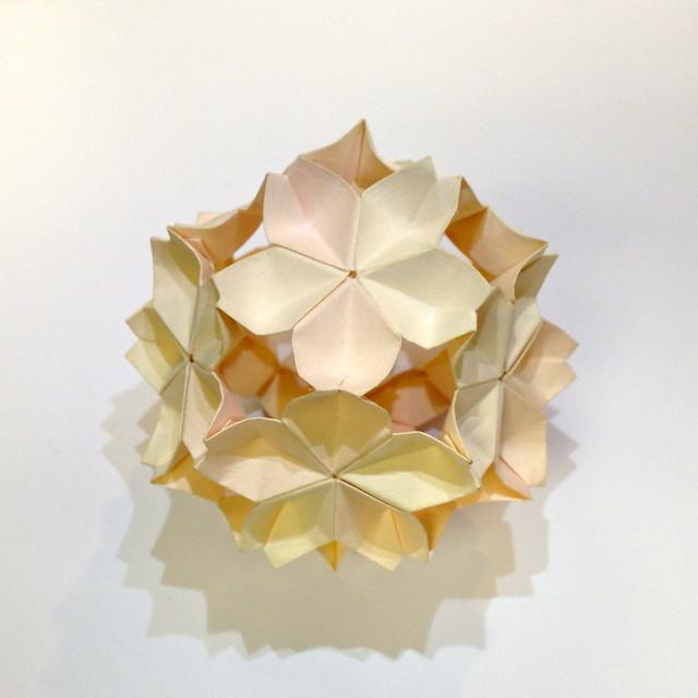 Kawasaki cherry blossom origami