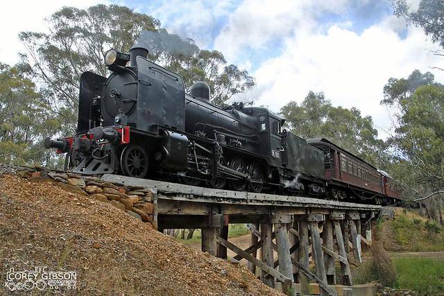 K190 - Victorian Goldfields Railway