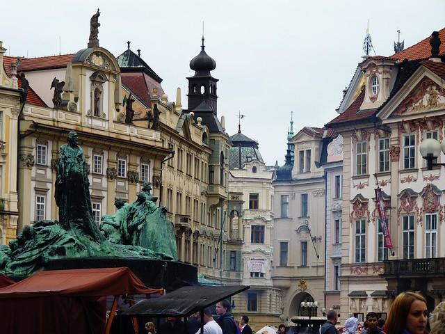 Prague's main square