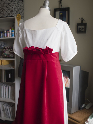 Beginning Train in Fashion Fabric