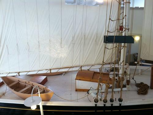 Schooner deck