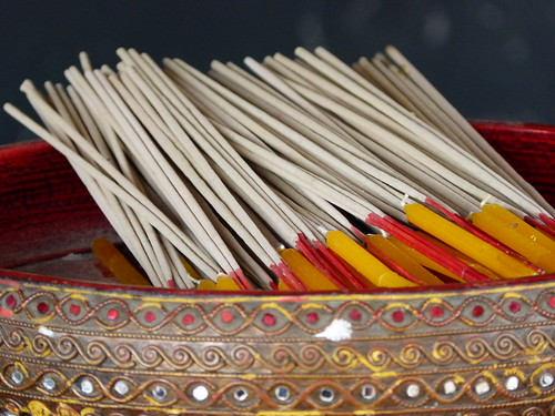lying down incense