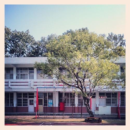 Guangrong Elementary School in Jhongsing Village. #nantou #taiwan