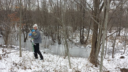 Julie J. Metz Wetlands Bank - January 2014 - Mommy and Dyson By Marsh (By Ryan Somma)