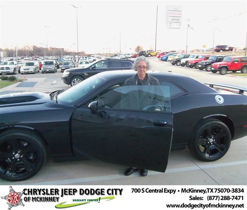 Happy Anniversary to Anastasia A Cox on your 2013 #Dodge #Challenger from Perry Callan and everyone at Dodge City of McKinney! #Anniversary by Dodge City McKinney Texas