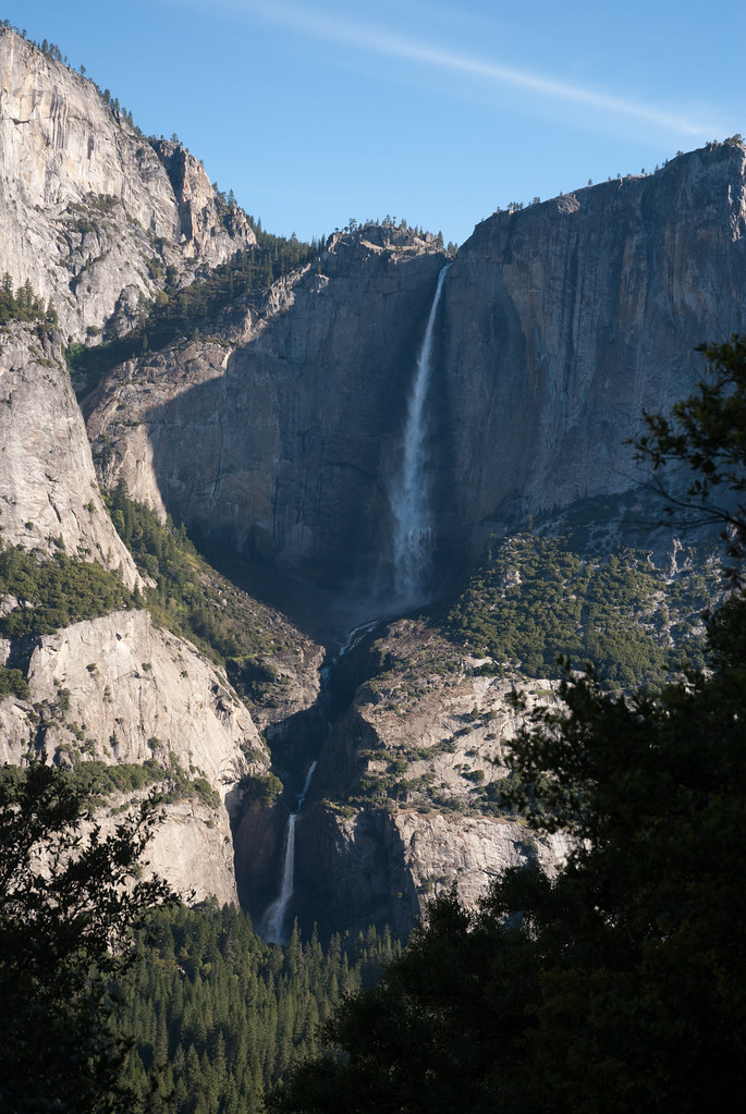Yosemite Falls from the Four Mile Trail