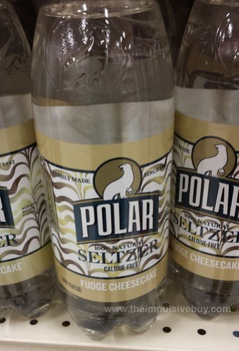 Polar Seltzer Fudge Cheesecake