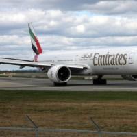 Emirates A6-EGO, OSL ENGM Gardermoen