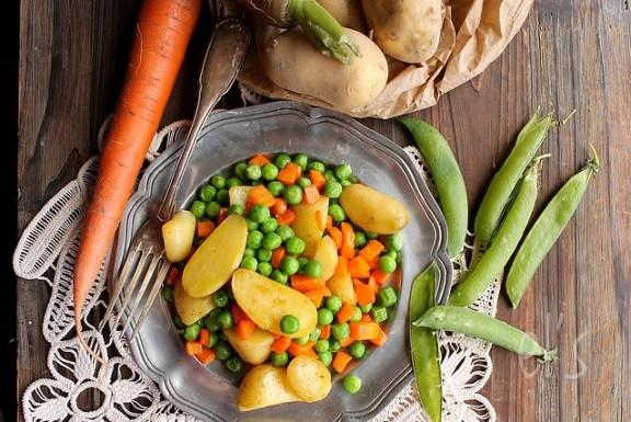 Petits pois carotte