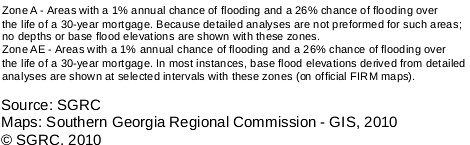 Flood zones