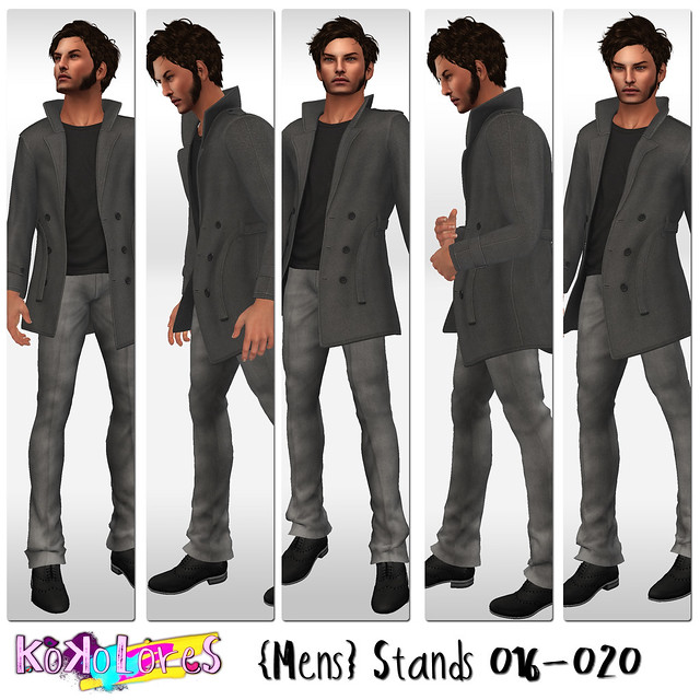 [KoKoLoReS]{Mens} Stands 016-020