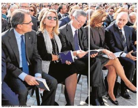 13j13 AMas y Ruiz Gallardón acto beatificación en Tarragona