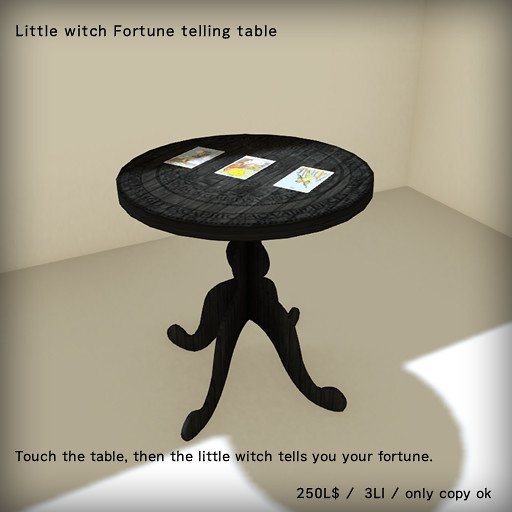 *N*Fortune Telling TABLE