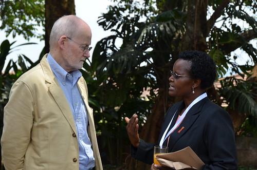 Anthony Beattie and Margaret Karembu