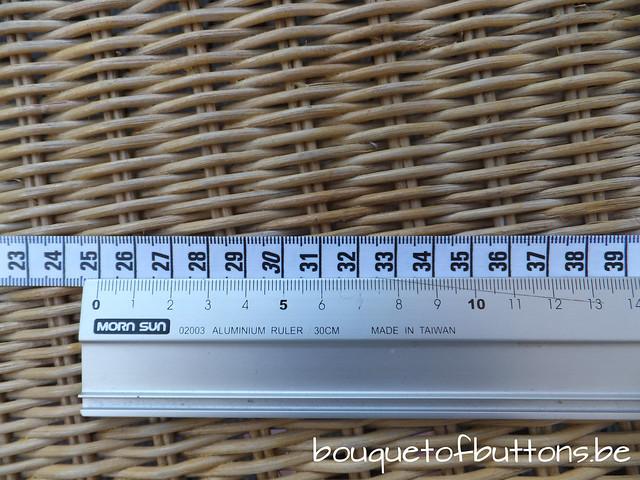lintmeter, tape measure