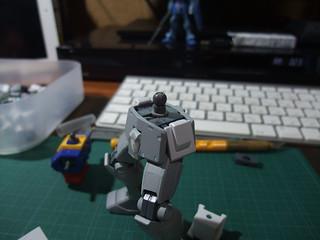 RGM-79LV ジムナイトシーカー2を作る #07 002
