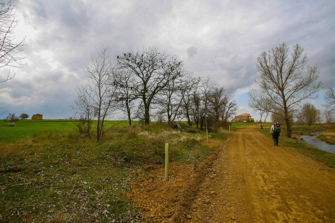 1. El camino por Villalcázar de Sirga, Palencia. Bill Bereza
