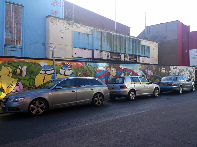 Cheo's mural of the seasons