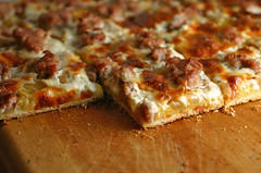 Sqsh & Sausage Pizza sm