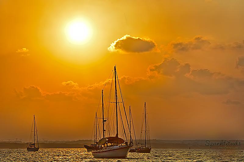 Sunset at Pulau Ubin
