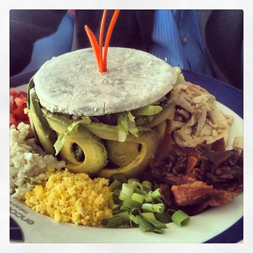 Cobb Salad at LAX's Encounter by @MySoDotCom