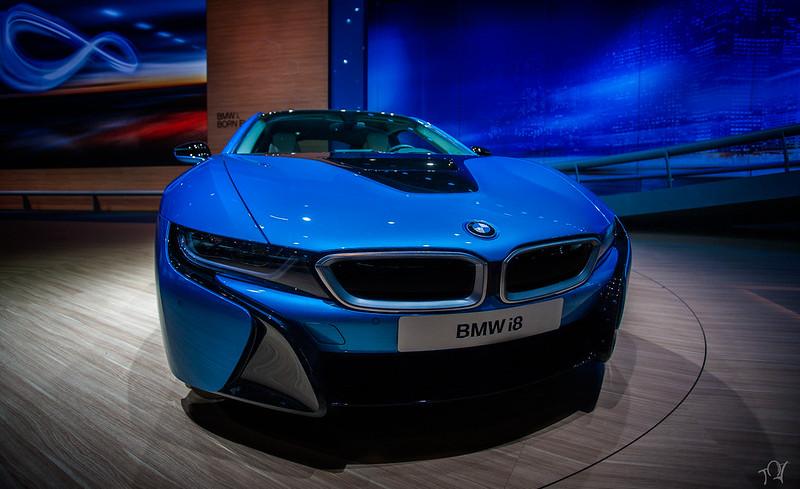 BMW i8 - IAA Frankfurt 2013