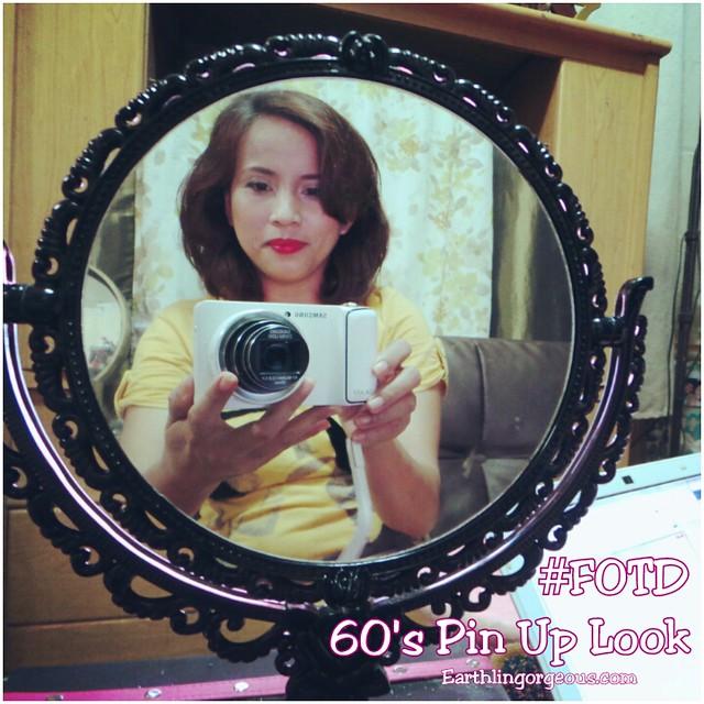 FOTD: 60's Pin Up Girl Look