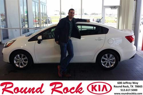 Congratulations to Philip Richards on your #Kia #Rio purchase from Roberto Nieto at Round Rock Kia! #NewCar by RoundRockKia