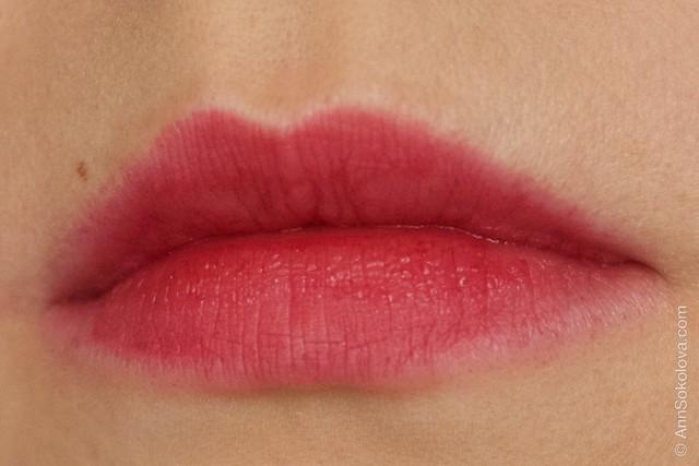 17 Avon   Ultra Colour Indulgence Lipstick   Red Dahlia swatches