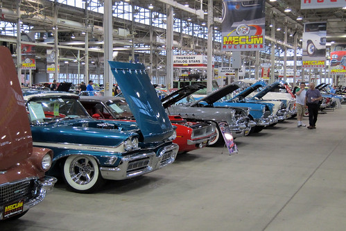 Wide shot from the Mecum Spring Classic