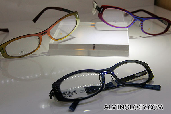 Assorted colour frames by Glossi