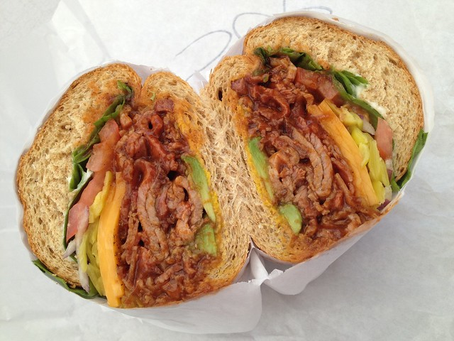 Super hero sandwich - Los Gatos Meats & Smokehouse