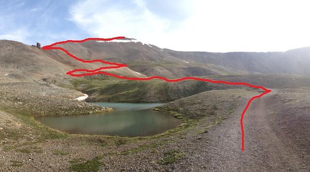 Mt. Sherman Route