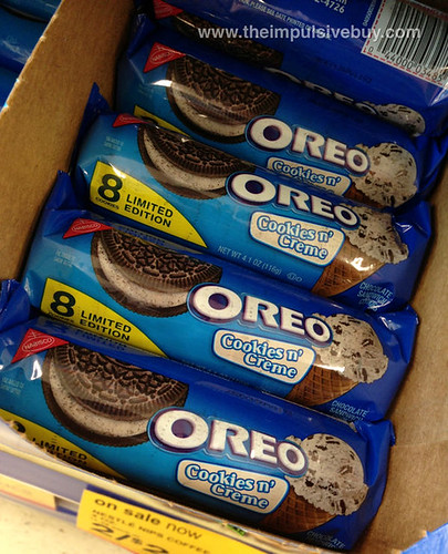 Limitted Edition Cookies n' Creme Oreo