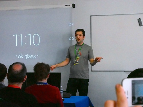 DevFest 2013 : 6 mois avec les Google Glasses (2)