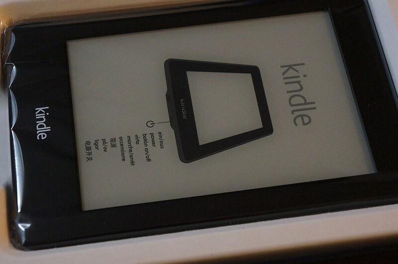 kindle paper white 2013
