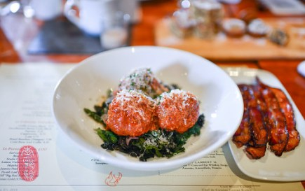 Veal and Ricotta Meatballs