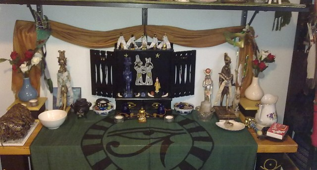 Shedety shrine - Sobek and Heru-sa-Aset