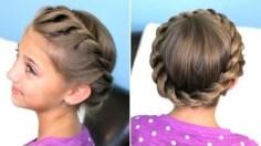 Crown Twist Braid Hairstyle Tutorial