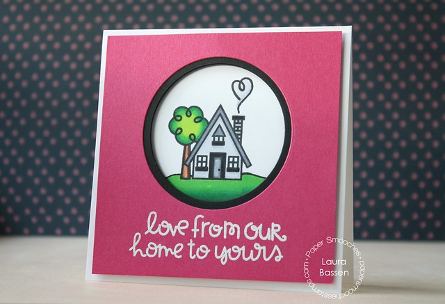 Paper Smooches~Bitty Bungalows