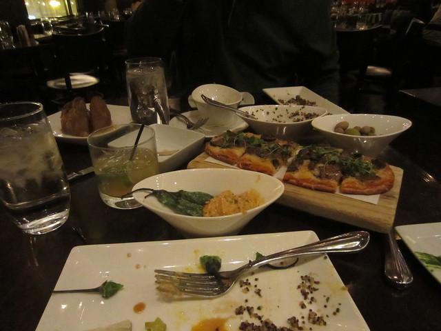 Tasting menu at Mercat a la Planxa
