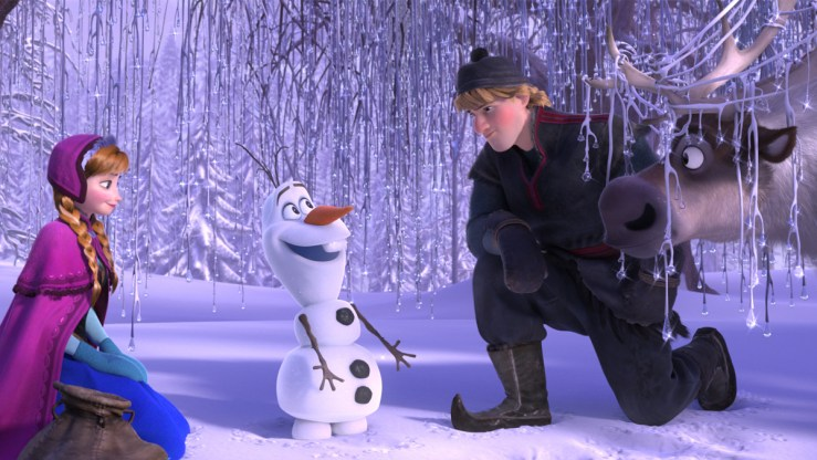 Frozen arvostelu - Disnerd dreams