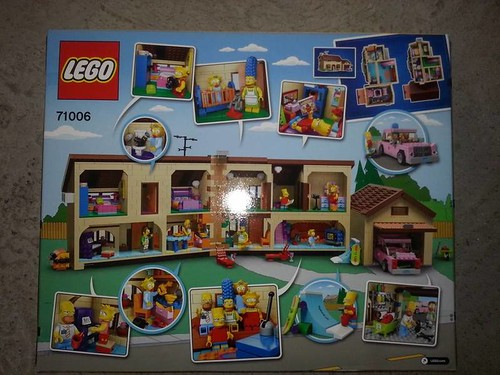 LEGO The Simpsons House (71006) Interior