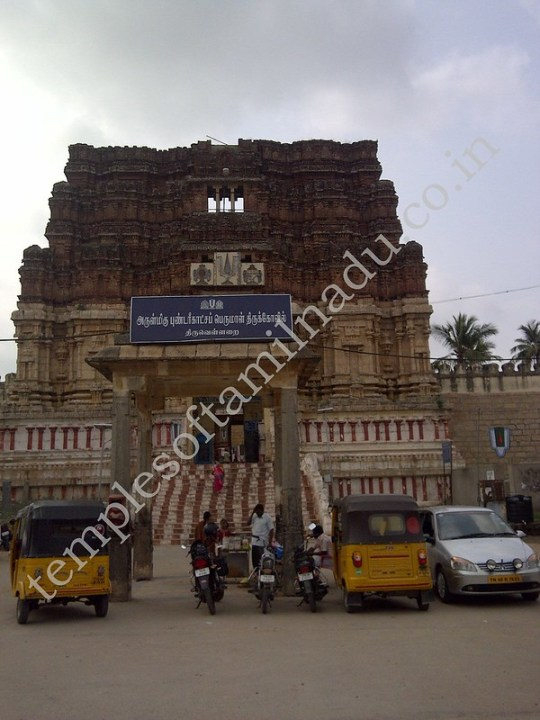 Pundarikaashan Temple at Thiruvellarai