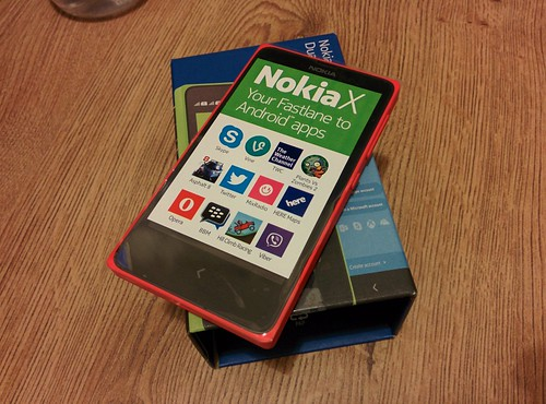 Nokia X device [Red]